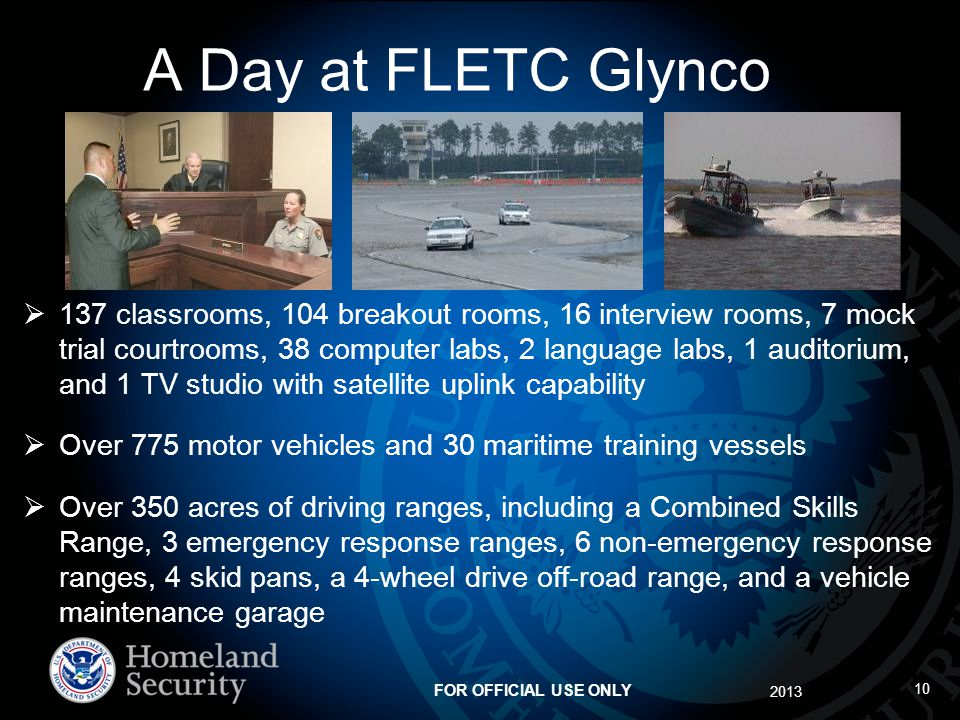 A Day at FLETC Glynco