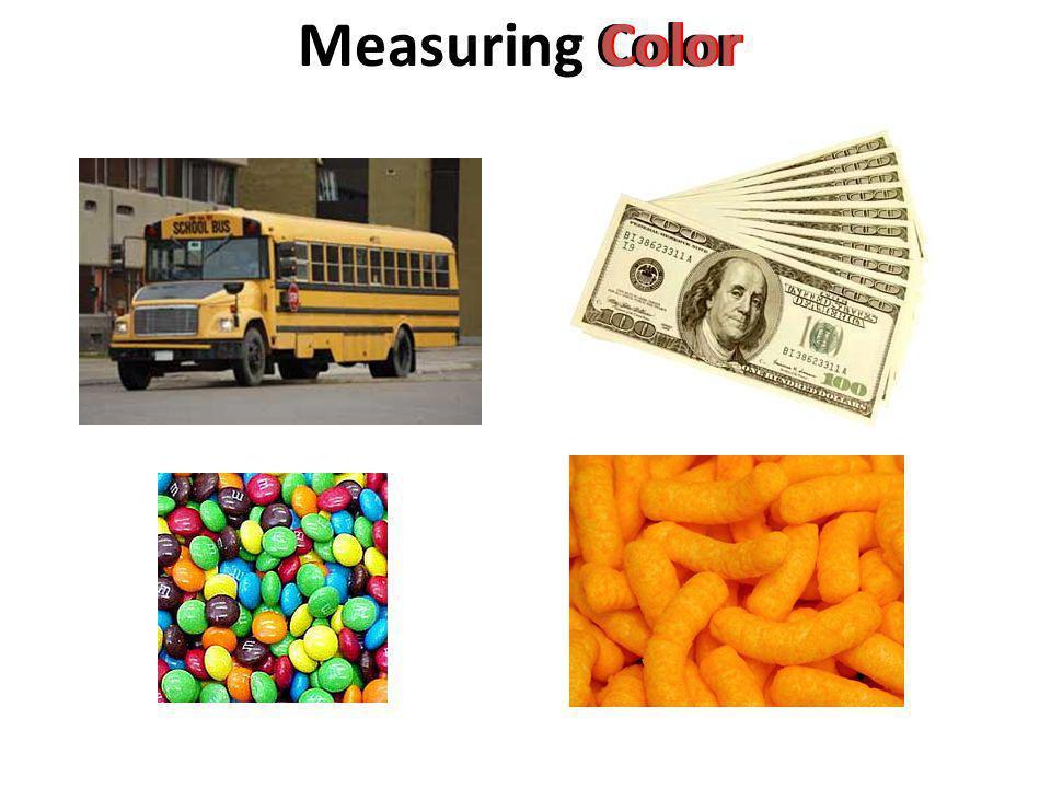 Measuring Color Color Color