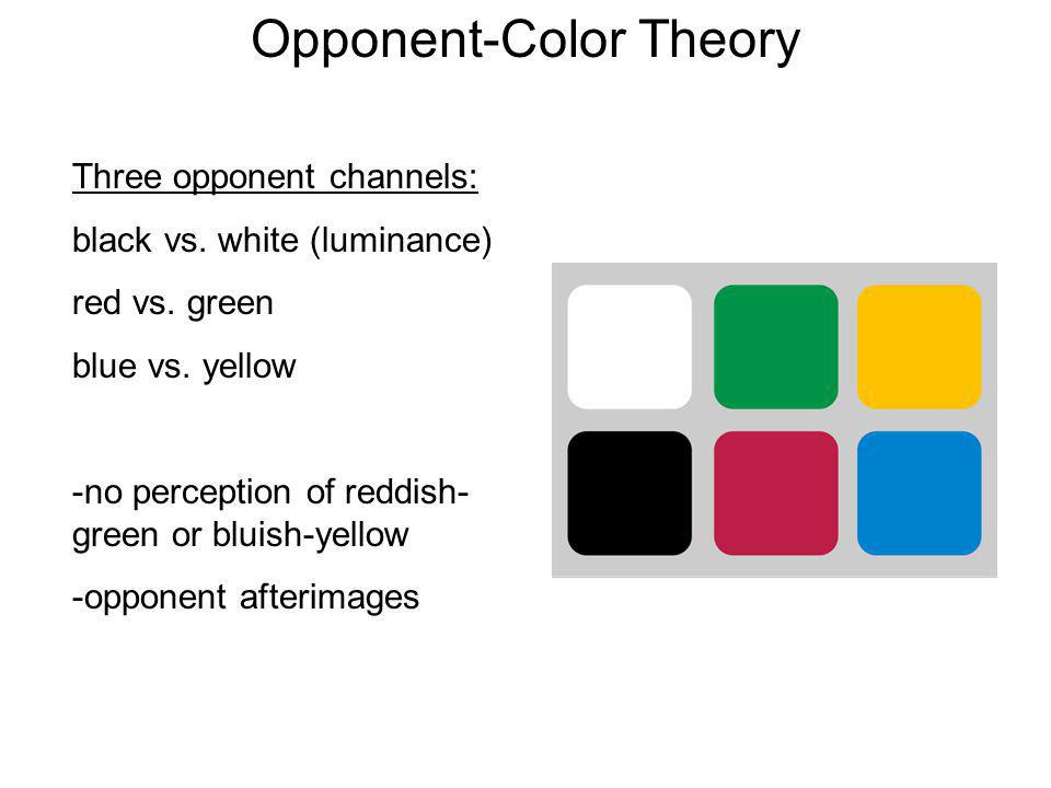Opponent-Color Theory
