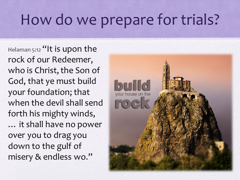 How do we prepare for trials