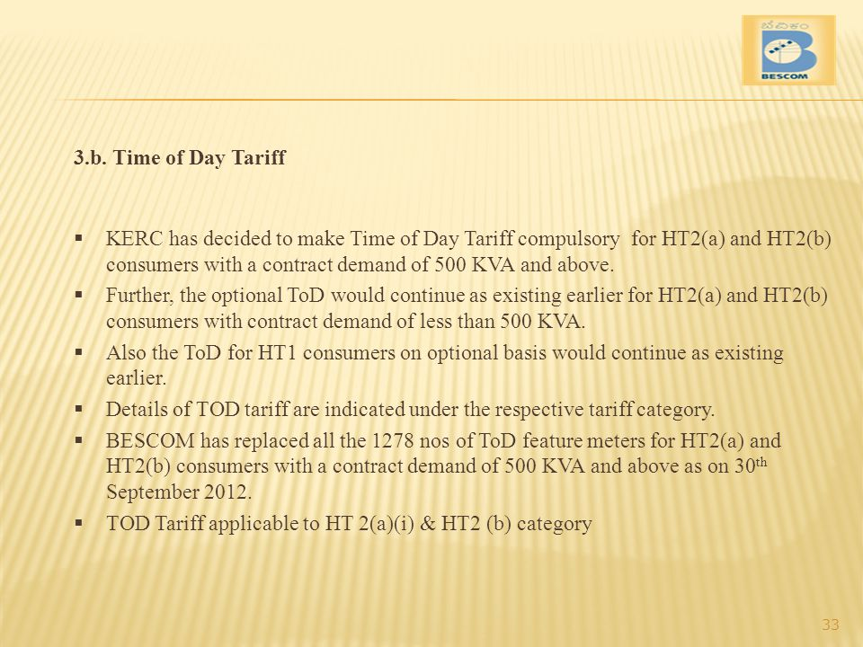 3.b. Time of Day Tariff