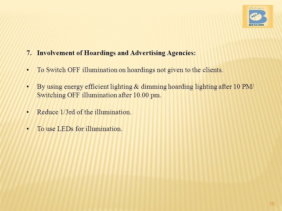 Involvement of Hoardings and Advertising Agencies: