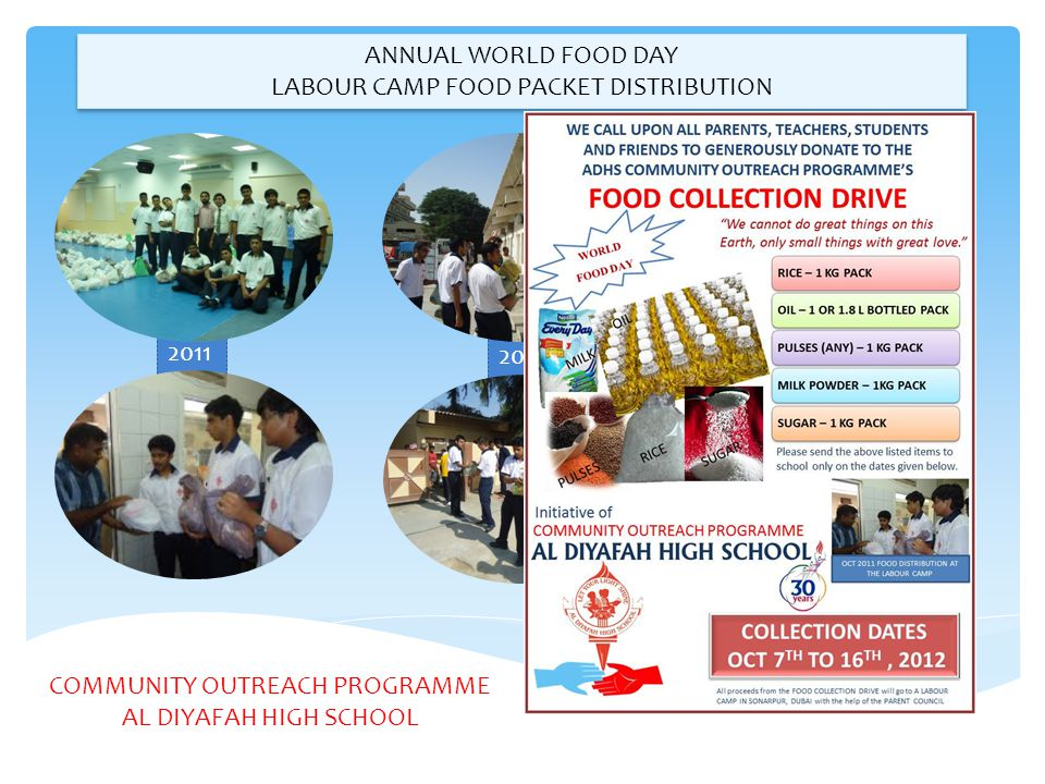 LABOUR CAMP FOOD PACKET DISTRIBUTION