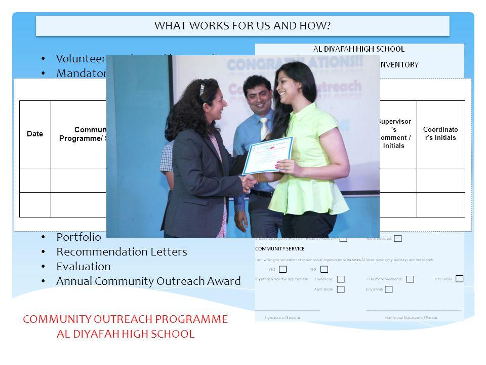 Student Service Log Sheet 2013-2014