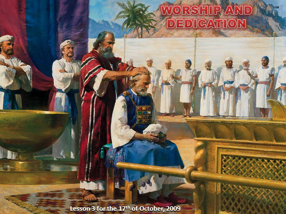 WORSHIP AND DEDICATION