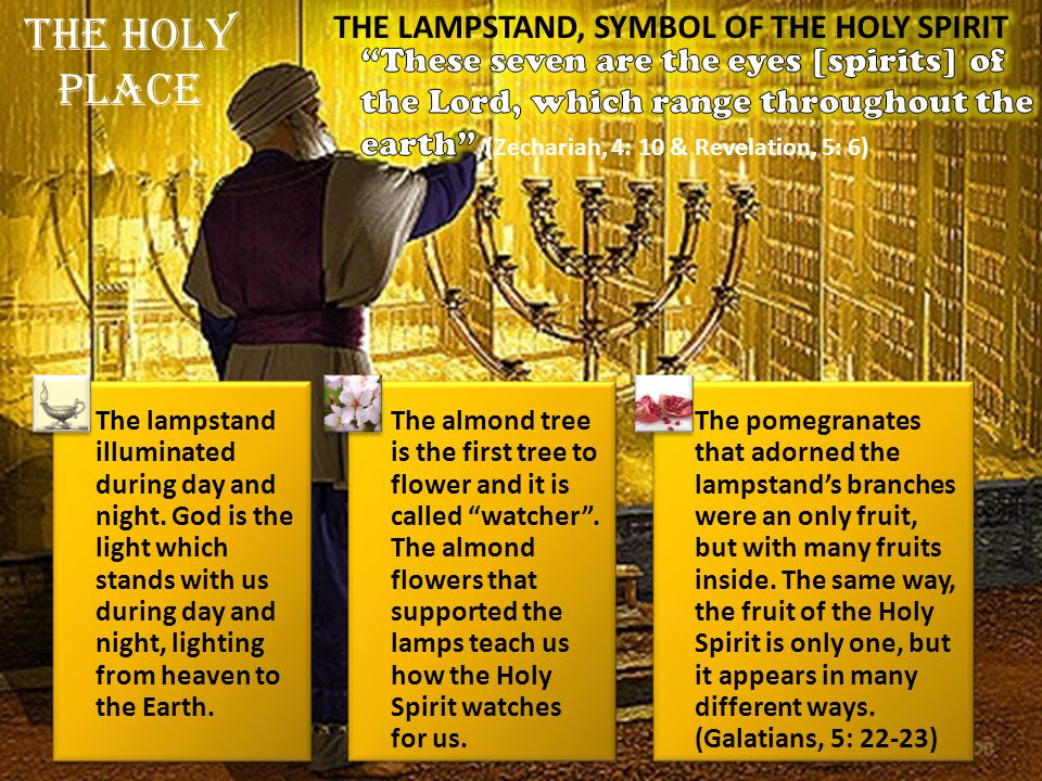 THE LAMPSTAND, SYMBOL OF THE HOLY SPIRIT