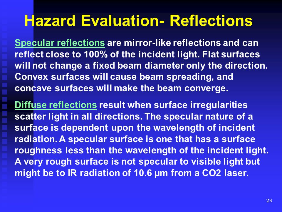 Hazard Evaluation- Reflections