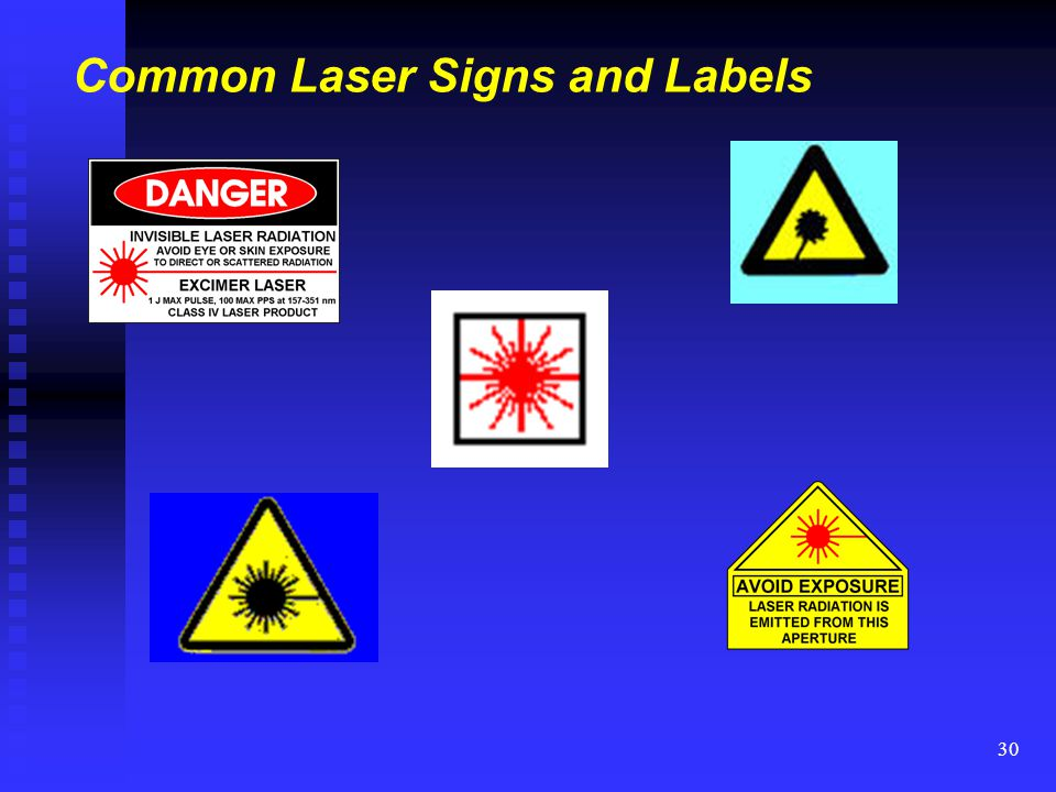 Common Laser Signs and Labels
