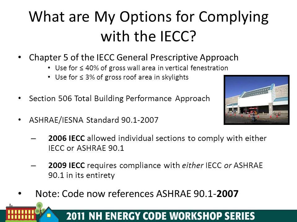 What are My Options for Complying with the IECC