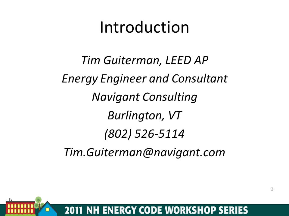Energy Engineer and Consultant