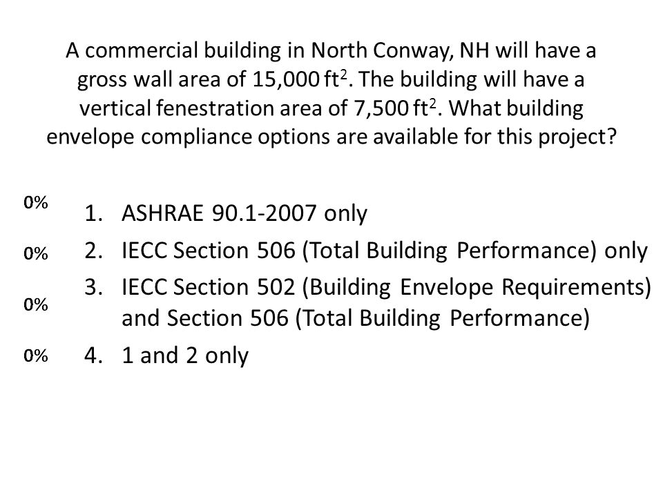 IECC Section 506 (Total Building Performance) only