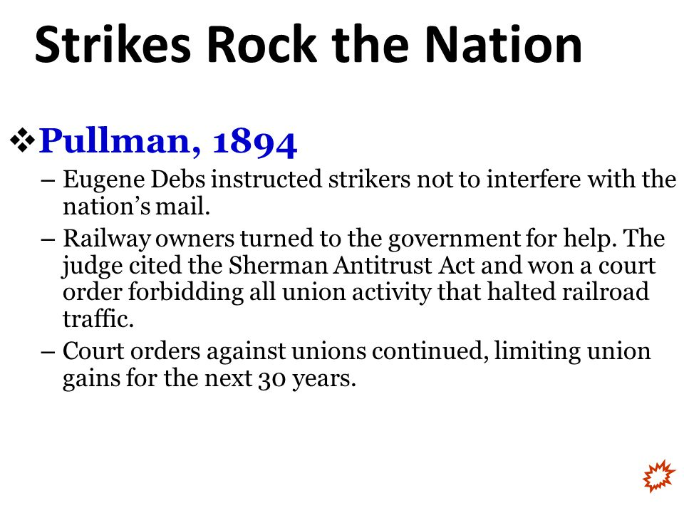 Strikes Rock the Nation