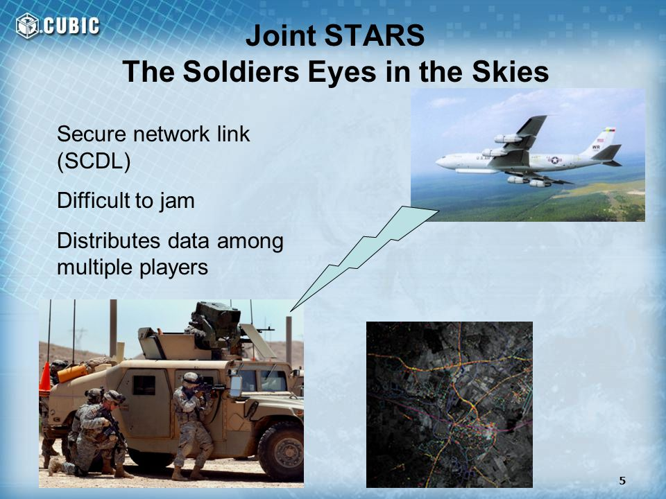 Joint STARS The Soldiers Eyes in the Skies