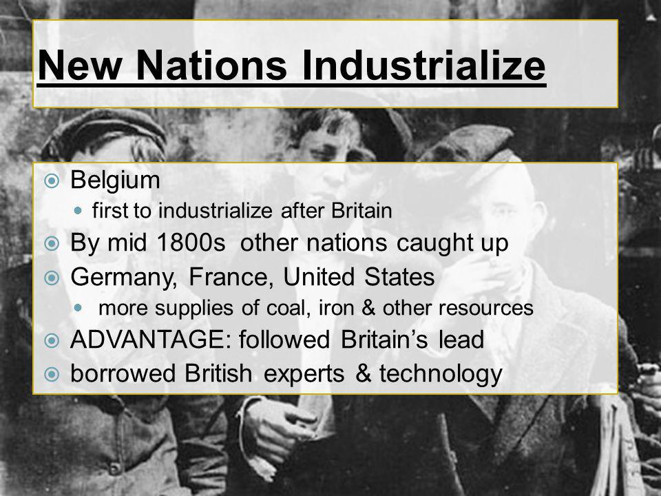 New Nations Industrialize