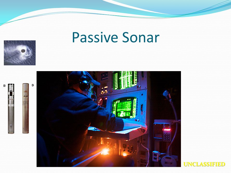 Passive Sonar UNCLASSIFIED