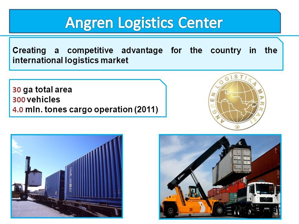 Angren Logistics Center