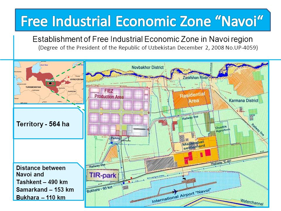 Free Industrial Economic Zone Navoi