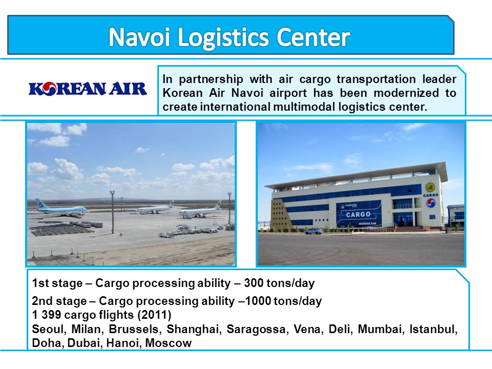 Navoi Logistics Center