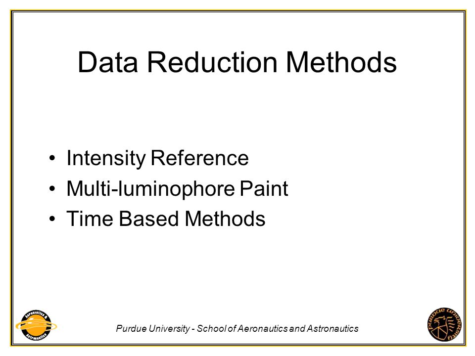 Data Reduction Methods