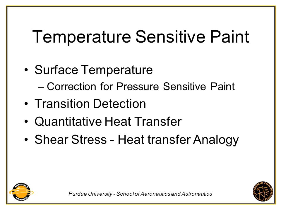 Temperature Sensitive Paint