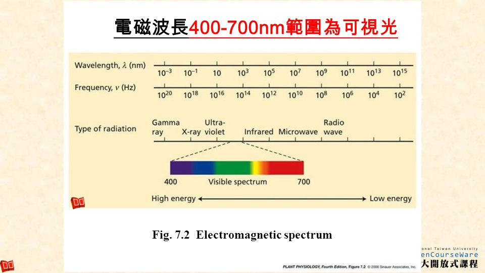 Fig. 7.2 Electromagnetic spectrum