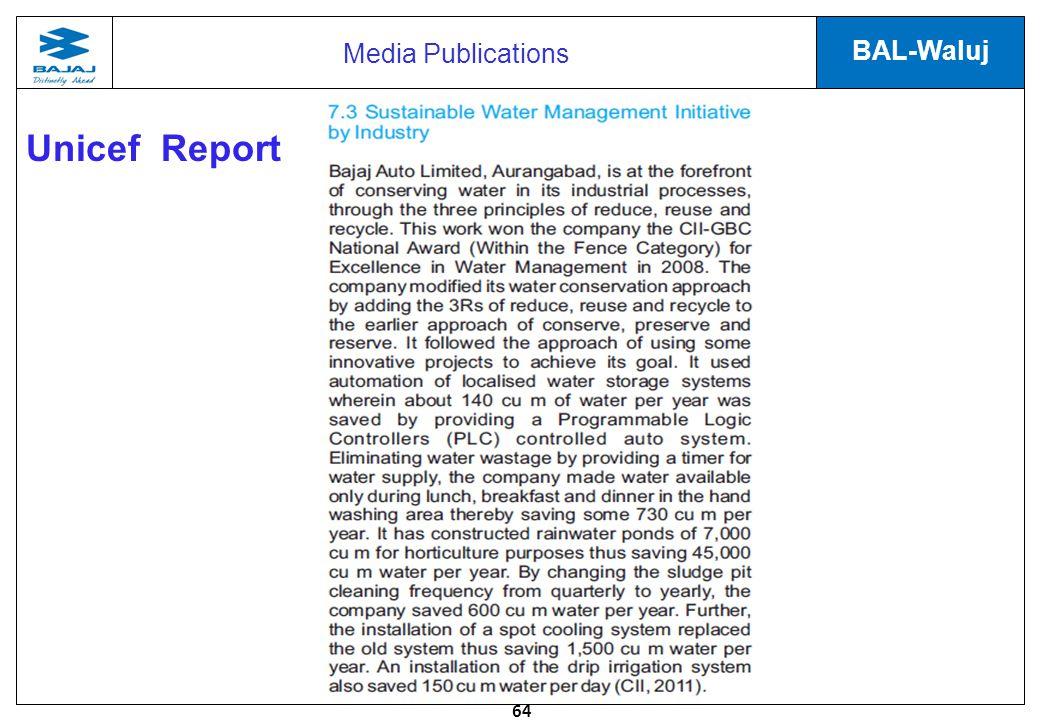 Media Publications Unicef Report