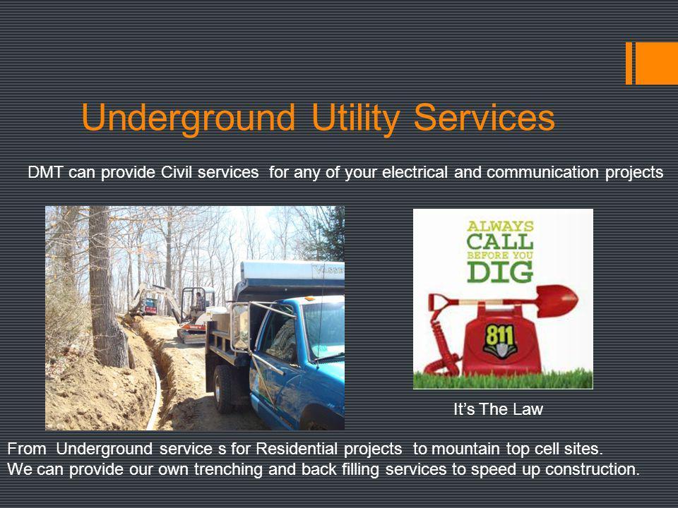Underground Utility Services