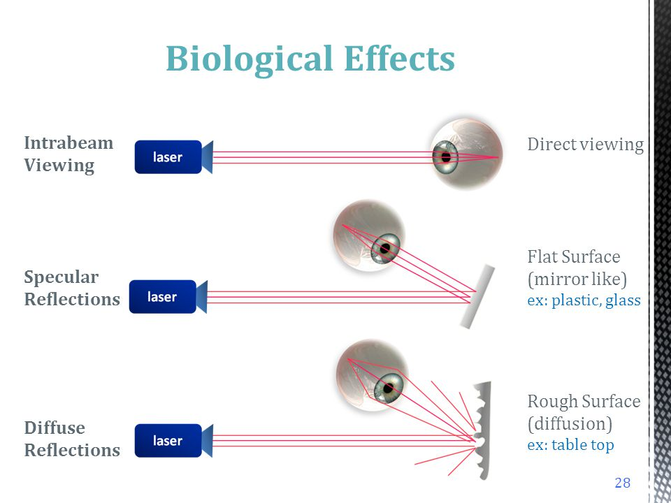 Biological Effects Intrabeam Viewing Direct viewing