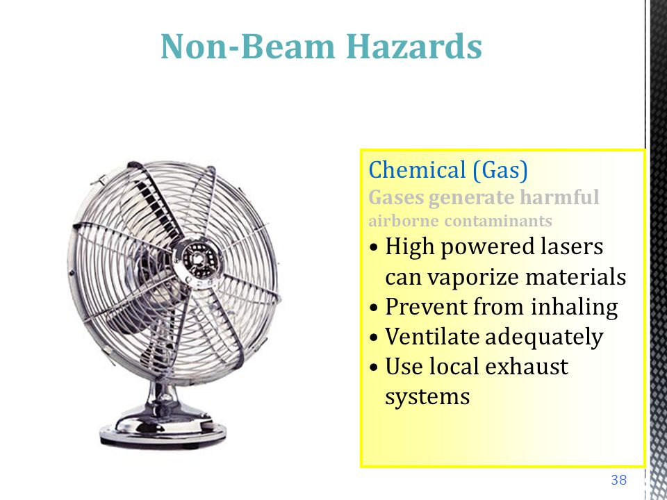 Non-Beam Hazards Chemical (Gas)