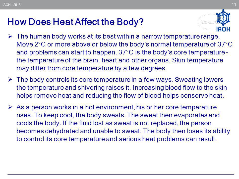 How Does Heat Affect the Body