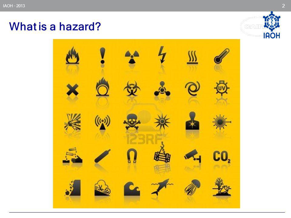 What is a hazard