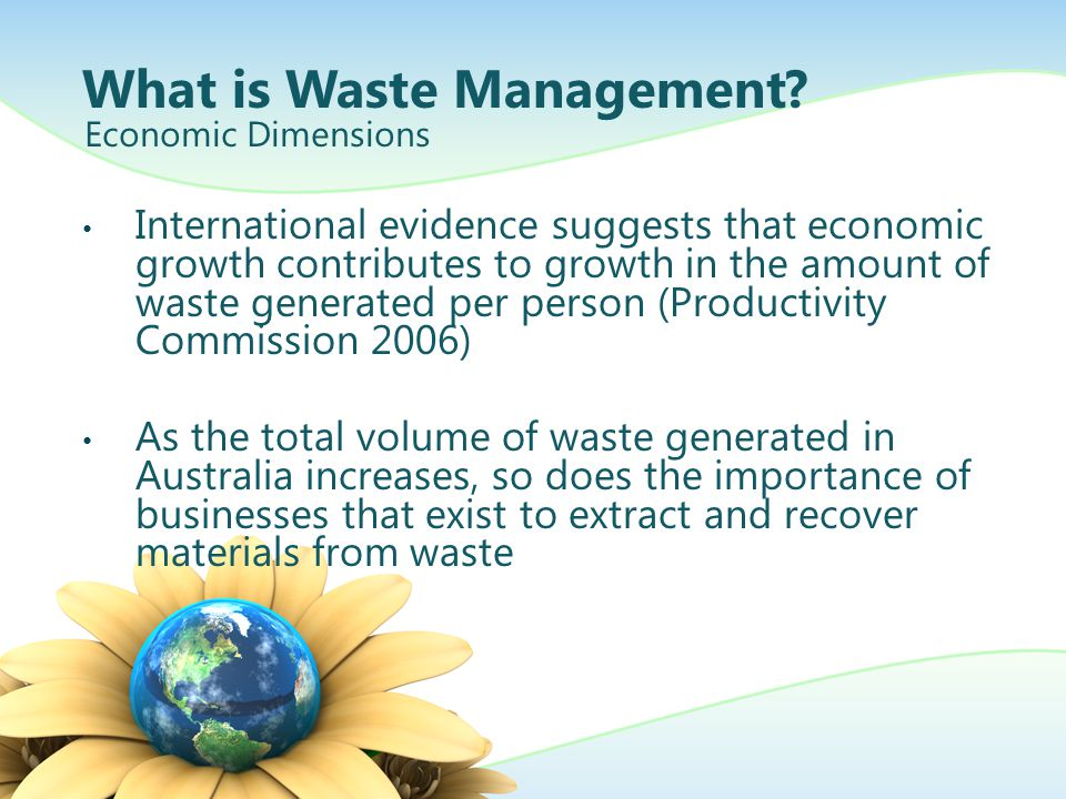 What is Waste Management