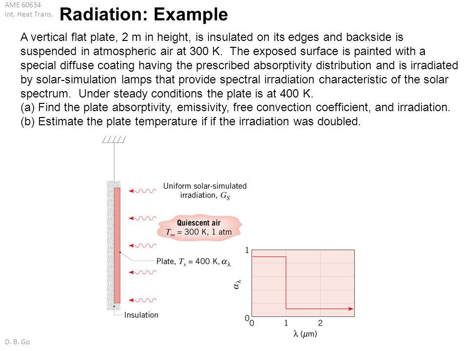Radiation: Example