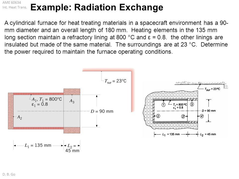 Example: Radiation Exchange
