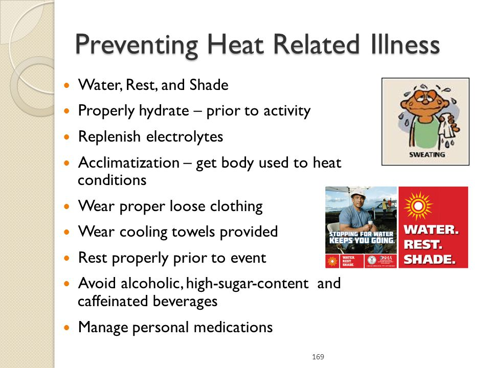 Preventing Heat Related Illness