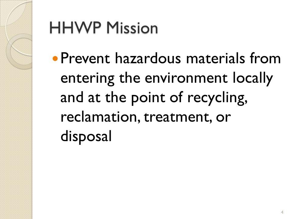 HHWP Mission