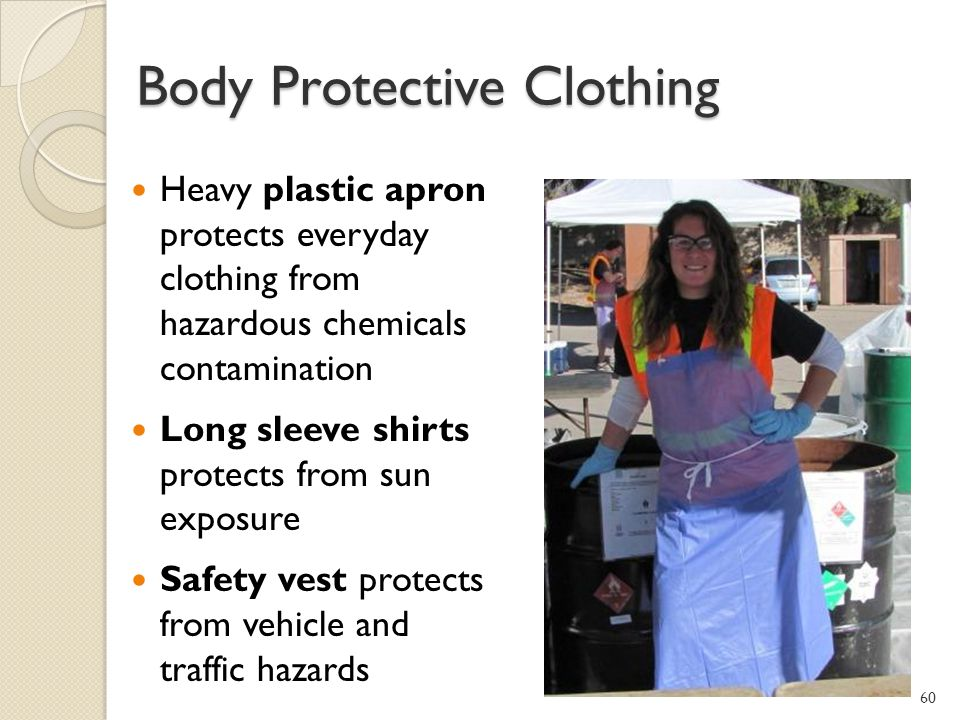 Body Protective Clothing
