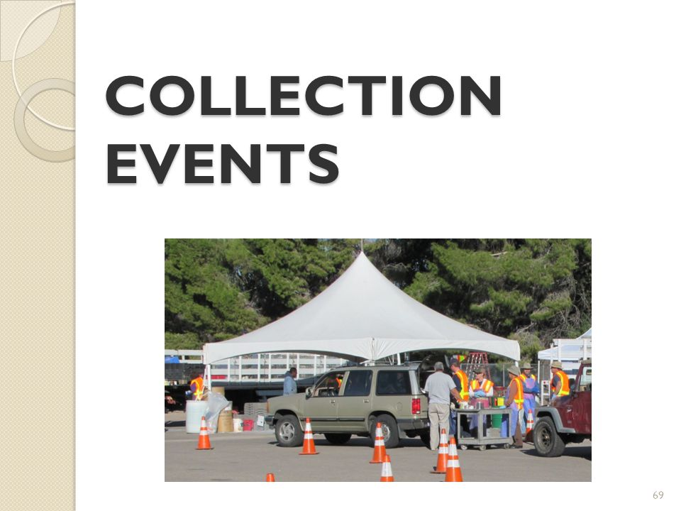 COLLECTION EVENTS