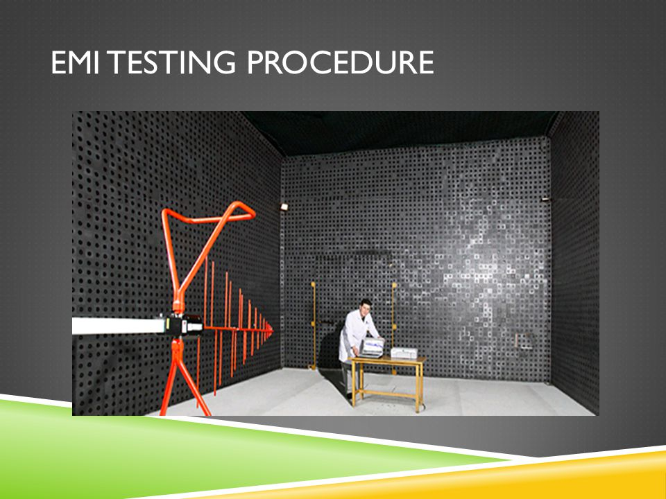 EMI Testing Procedure