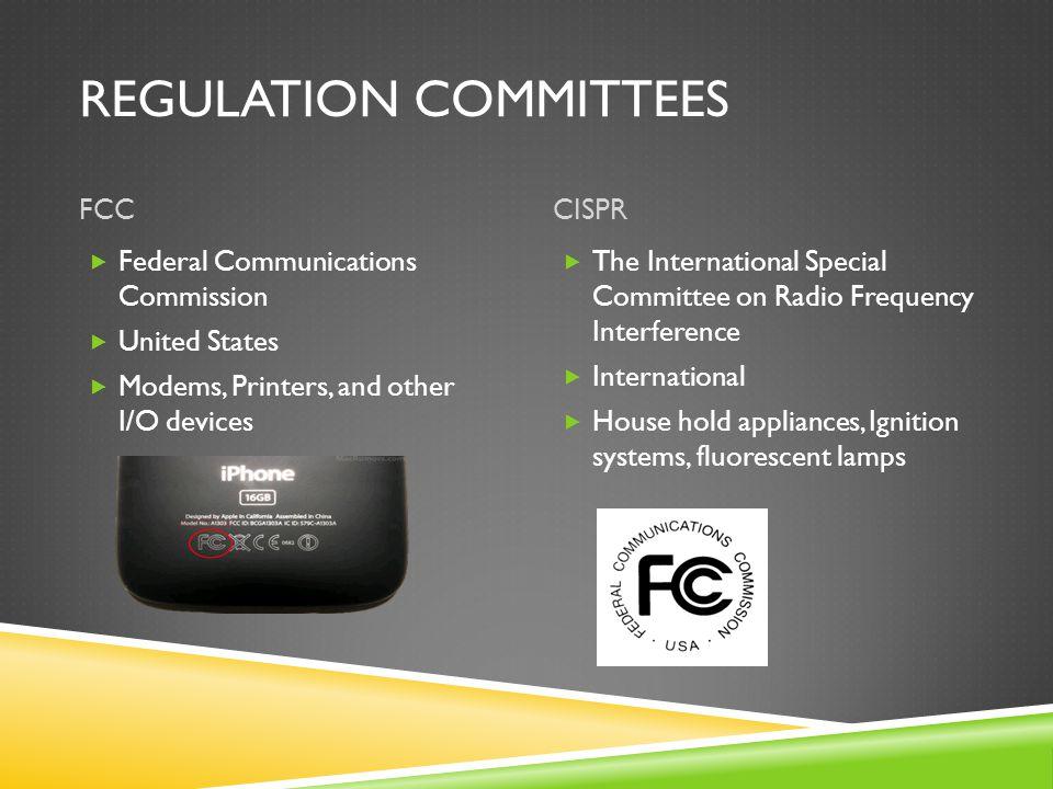 Regulation Committees
