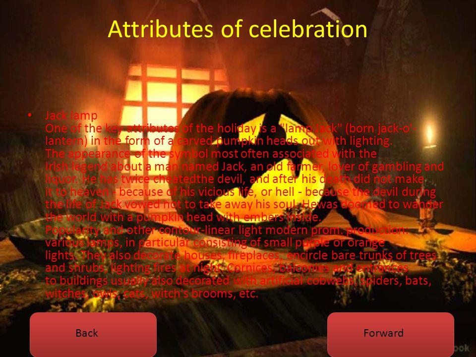 Attributes of celebration