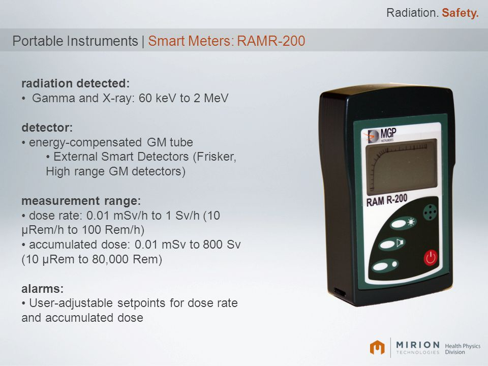 Portable Instruments | Smart Meters: RAMR-200