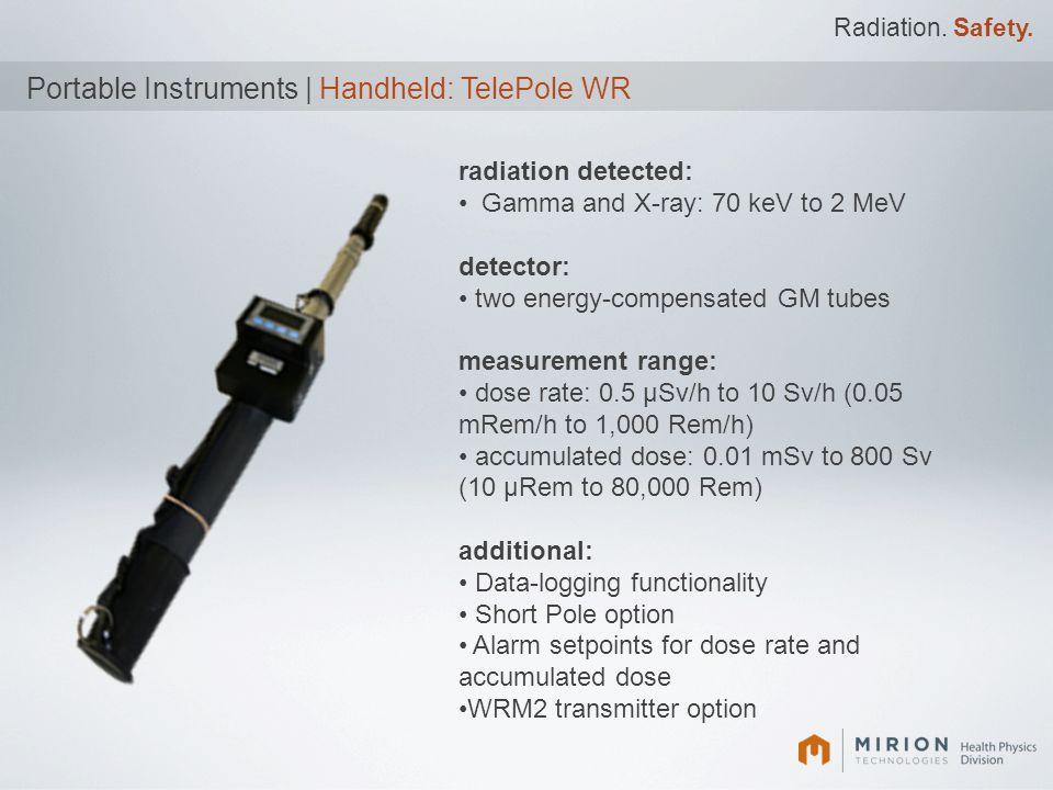 Portable Instruments | Handheld: TelePole WR