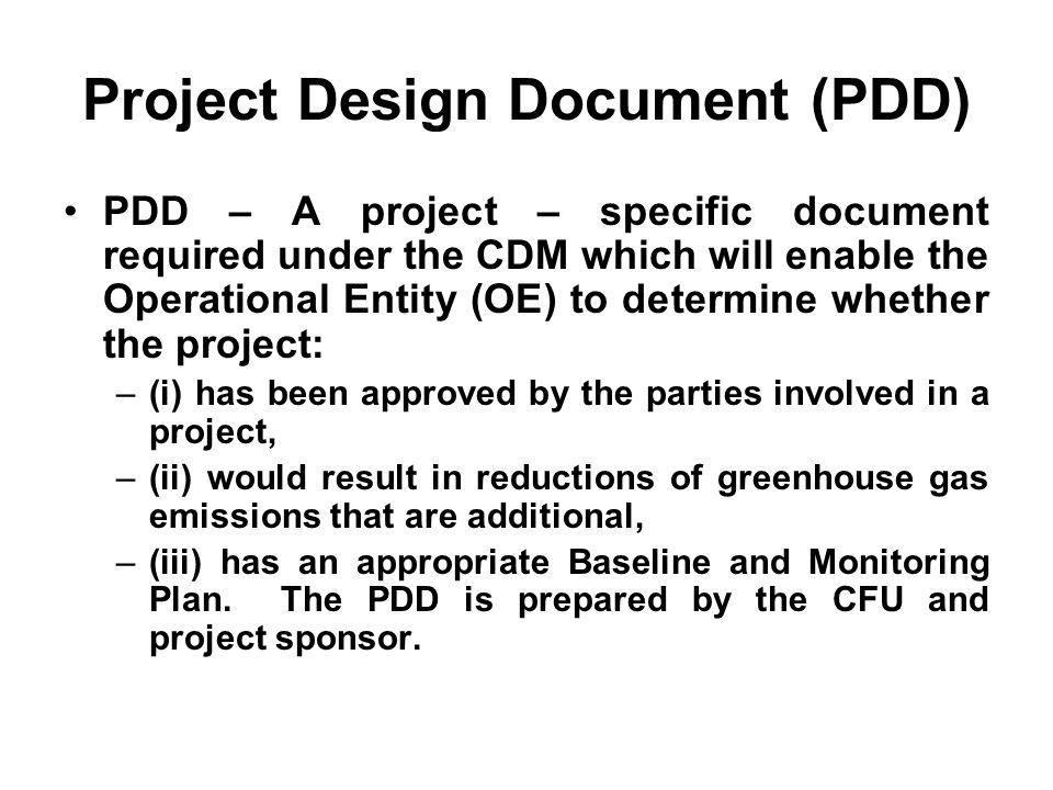 Project Design Document (PDD)