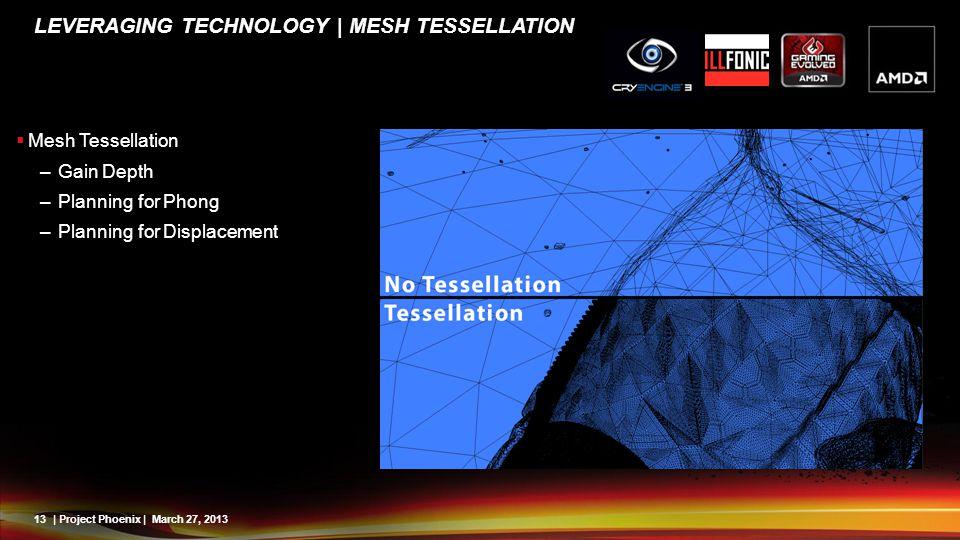Leveraging Technology | Mesh Tessellation