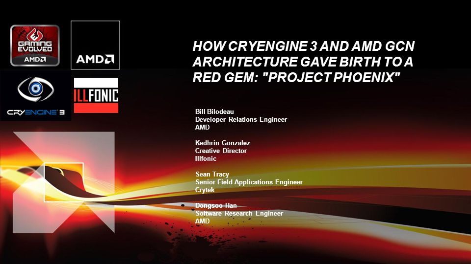 How CryEngine 3 and AMD GCN Architecture Gave Birth to a Red Gem: Project Phoenix