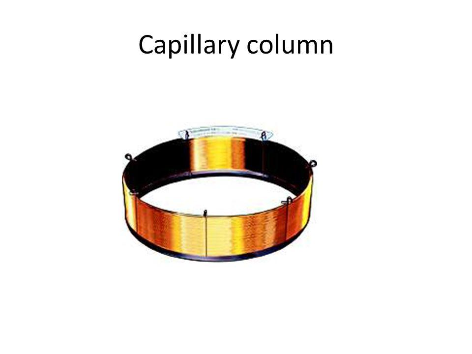 Capillary column