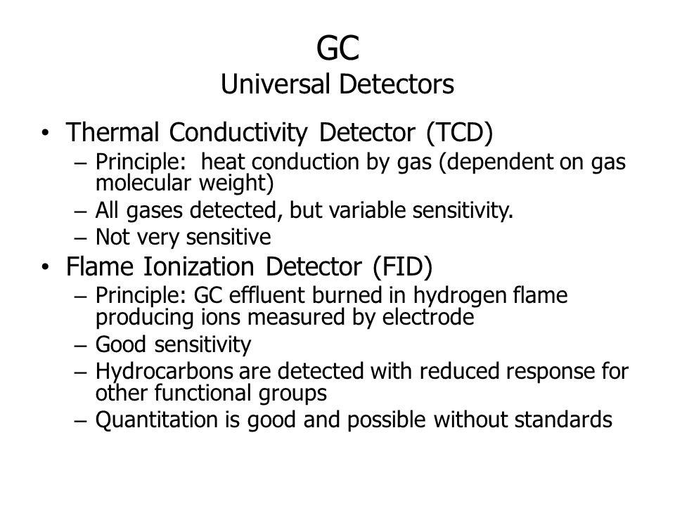 GC Universal Detectors