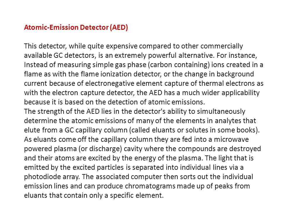 Atomic-Emission Detector (AED)