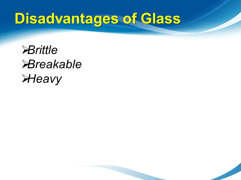 Disadvantages Of Glass Refractive Index